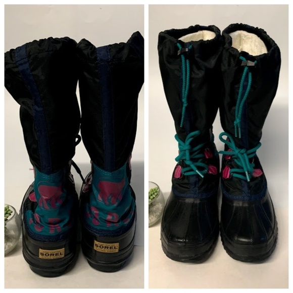 fashion style dirt cheap cost charm Sorel FREESTYLE Retro Color Block Tall Snow Boots